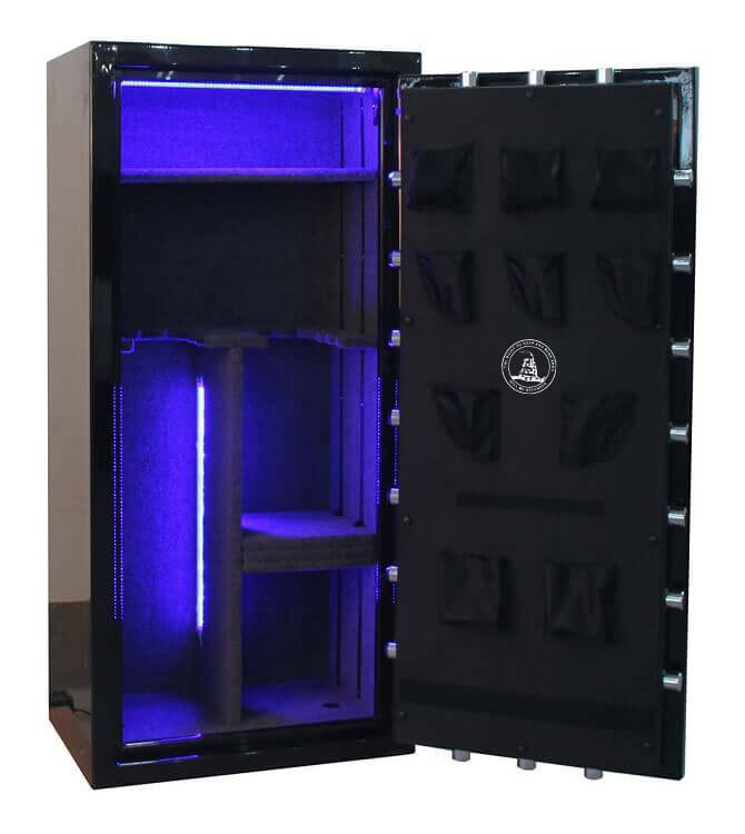 Tall 12 Gun Safe By Old Glory Gun Safe Company