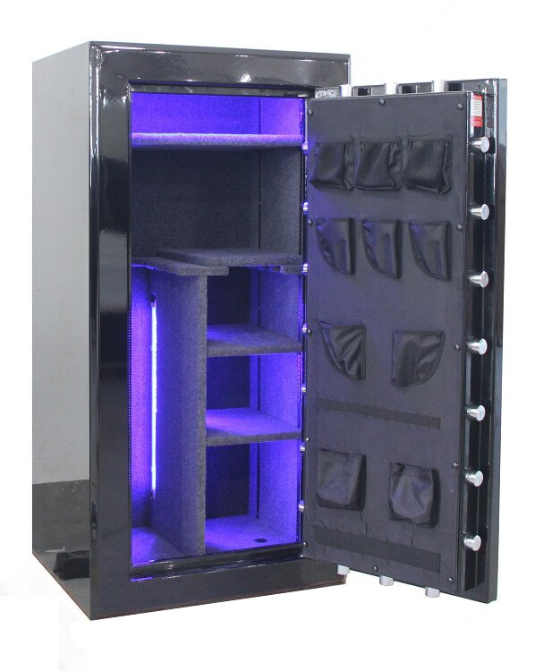 Large 24 Gun Safe By Old Glory Gun Safe Company