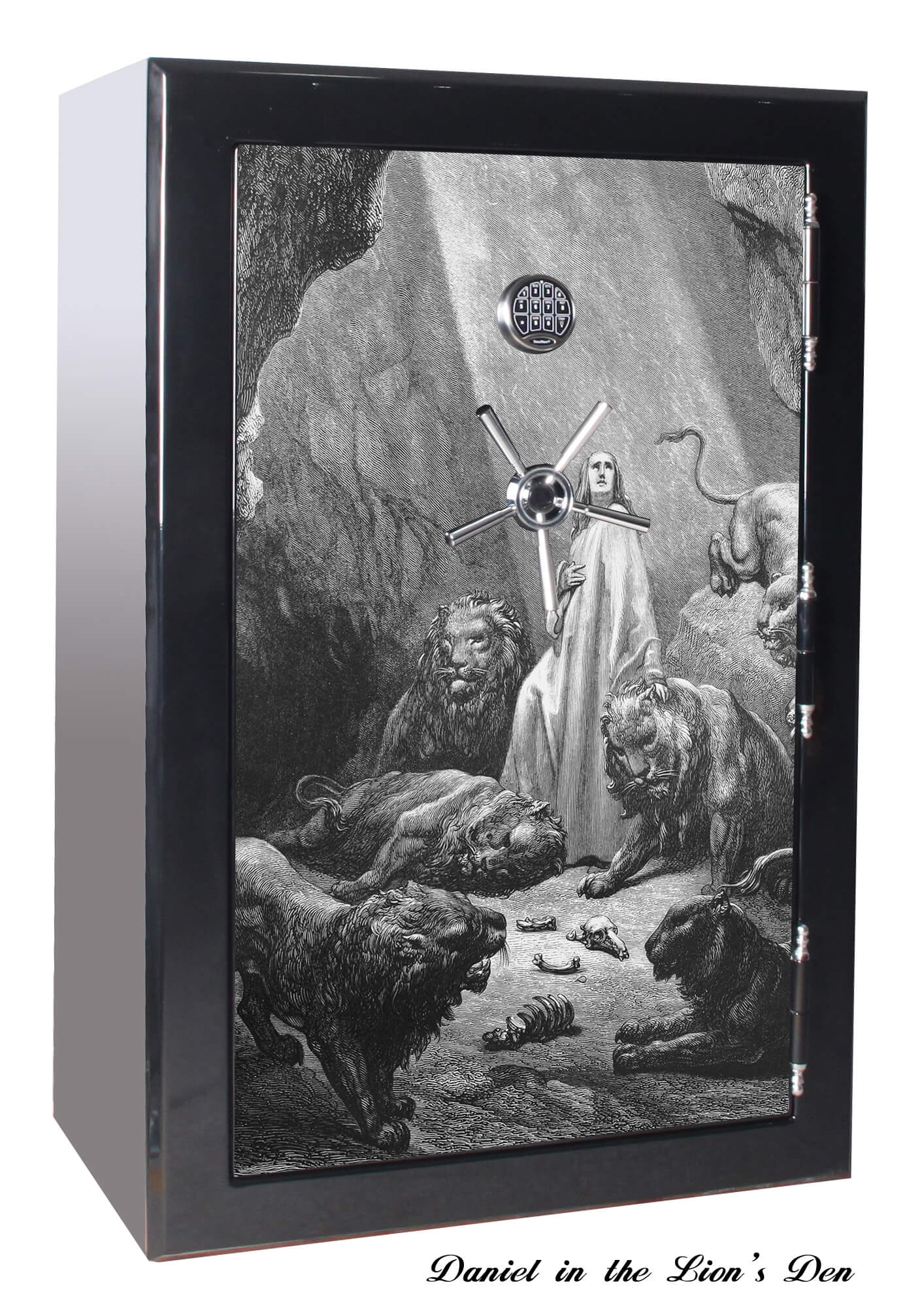 Huge 39 Gun Safe Old Glory Gun Safes Biblical Series 1