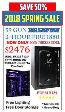 39 Gun Extra Special Safe Sale