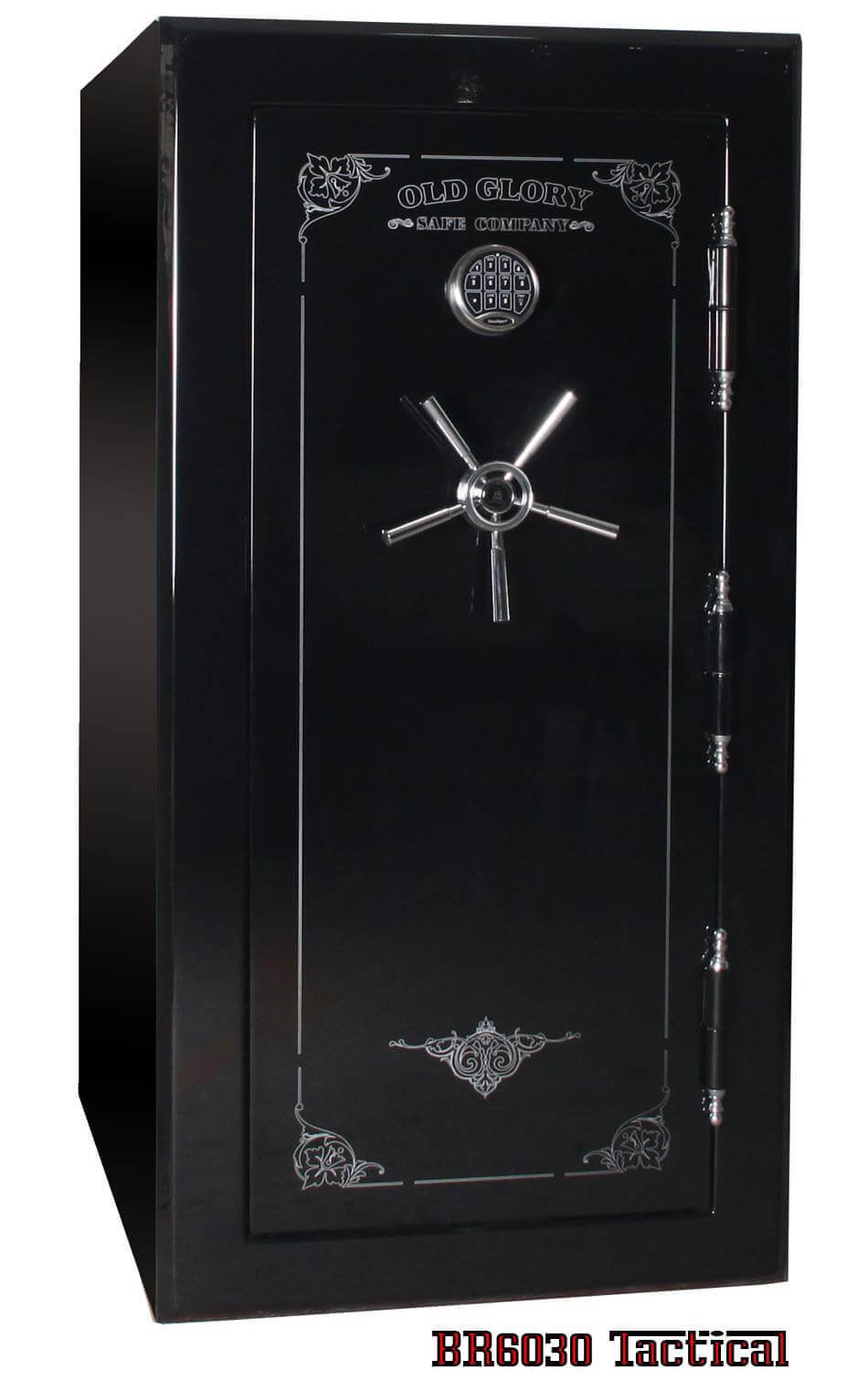 BR 6030 Gun Safe Closed Front Angle