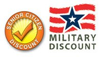 Discounts for Military and Law Enforcement