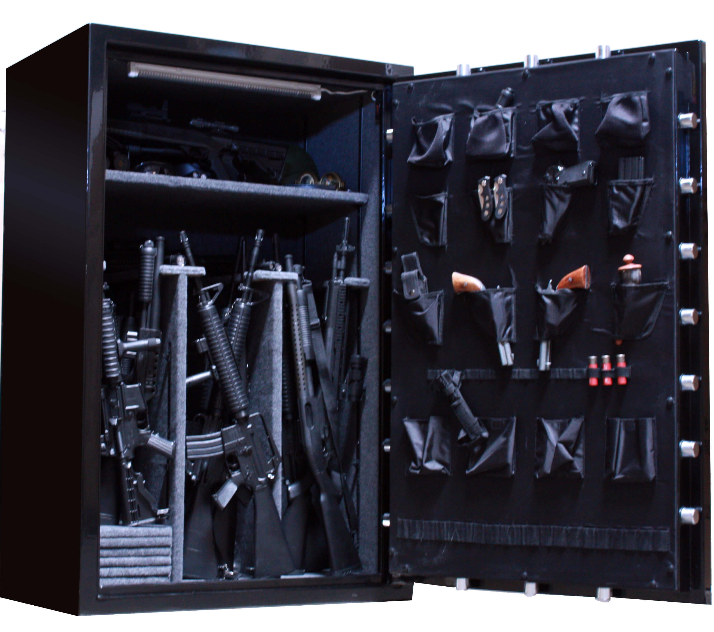 Huge 39 Gun Safe Old Glory Gun Safes Biblical Series 3