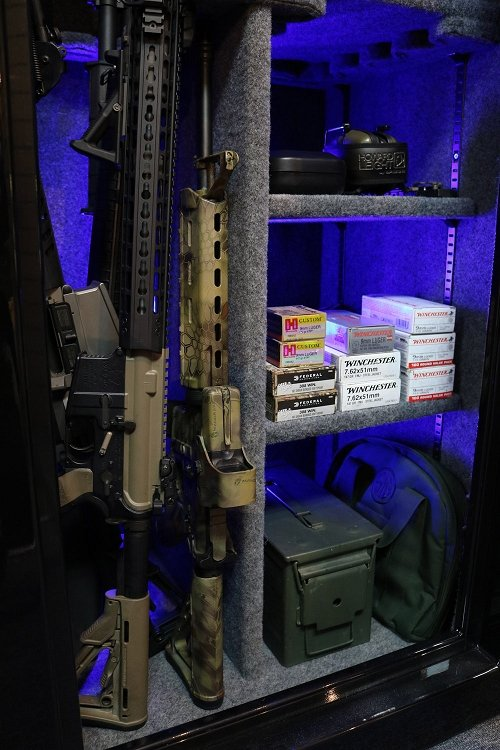 BR Elite 24 Gun 2-Hour Fire Tactical Gun Safe *As low as 12 payments of $206