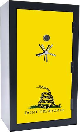 1776 Series 45 Gun 2-Hour Fire Gun Safe Gadsden Flag *As low as 12 payments  of $306