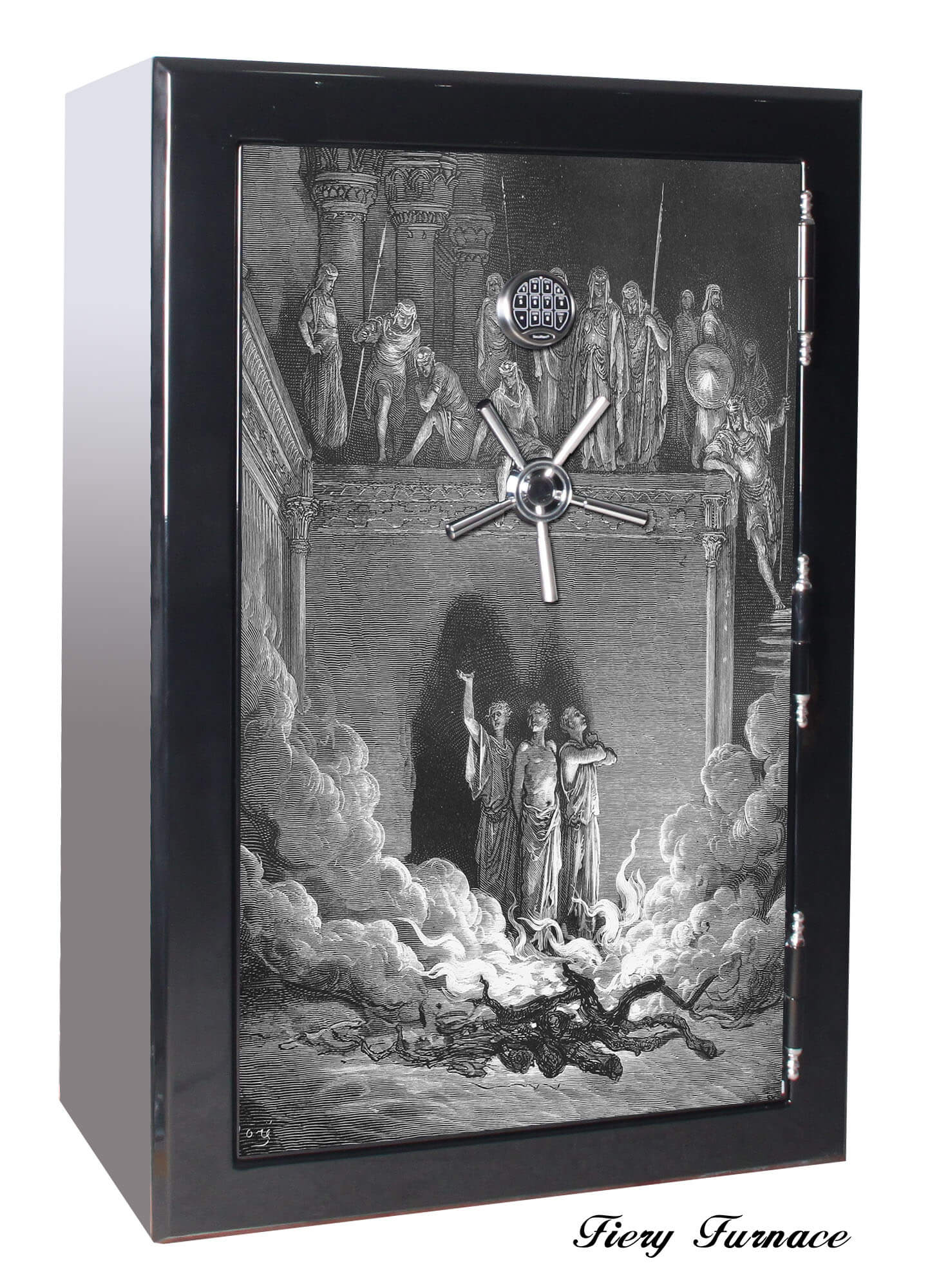 Huge 39 Gun Safe Old Glory Gun Safes Biblical Series 2