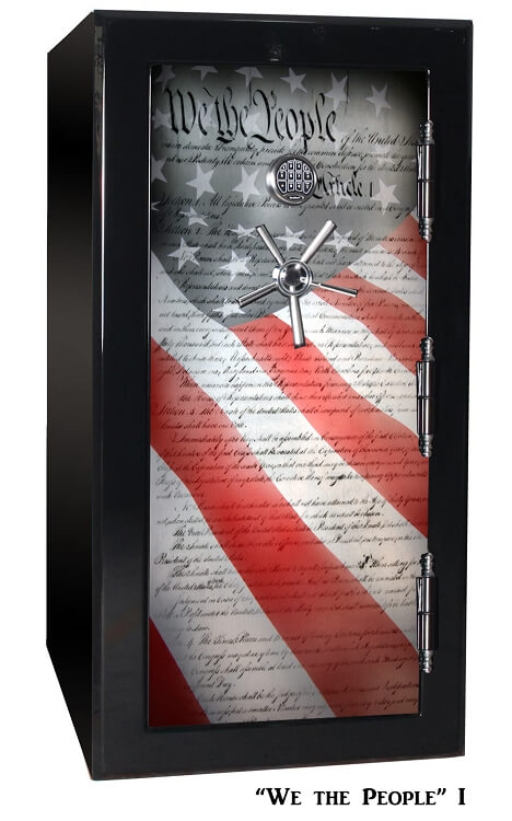 Large 24 Gun Safe By Old Glory Gun Safe Company We The