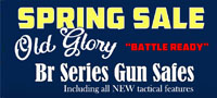 Old Glory Seasonal Gun Safe Sale