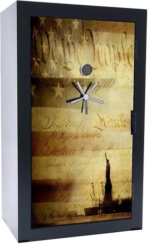 Huge 39 Gun Safe 1776 Series By Old Glory Gun Safes