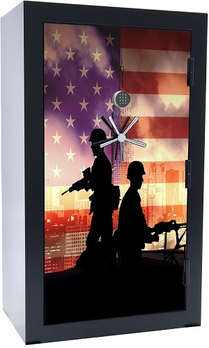 Old Glory Series #2 42 Gun 2-Hour Fire Gun Safe *As low as 12 payments of $331