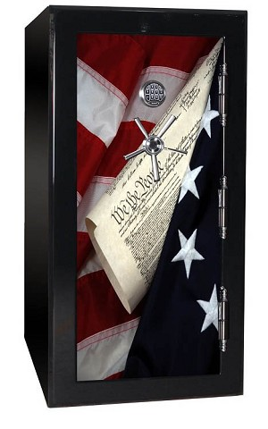 BR Series 24 Gun 2-Hour 1880 Fire Tactical Gun Safe - Law & Order